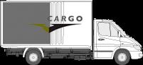 Speedcargo Bakwagen met schuifzeilen