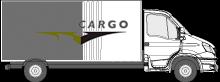 Speedcargo Vrachtwagen met schuifzeilen